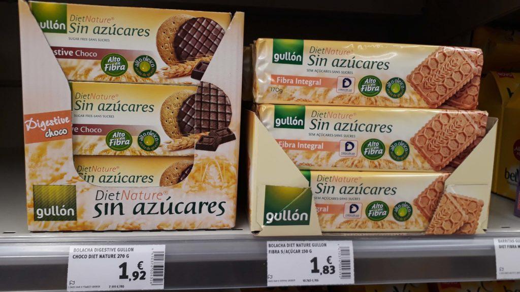 Sugar-free cookies from Gullón