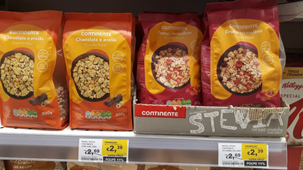 Vegan crunchy muesli from Continente