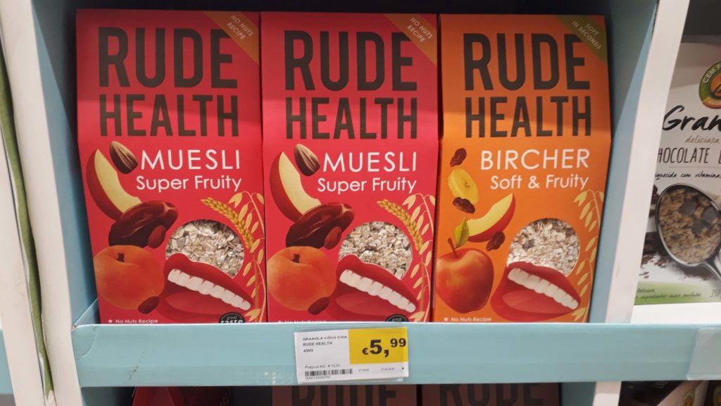 Vegan granola from Rude Health
