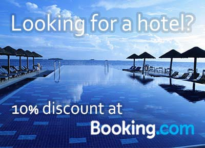 10% discount at Booking.com