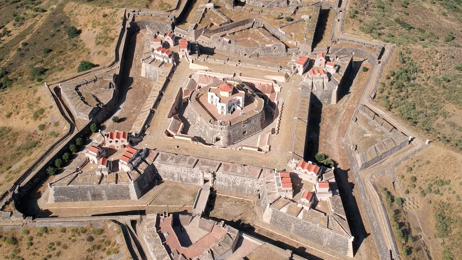 Elvas: Largest Bulwark Fortifications in the World