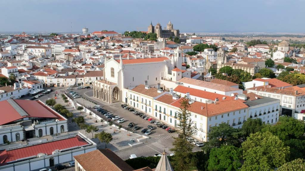 Évora from above