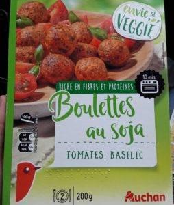 Desayuno: Boulettes au soja