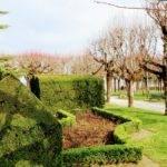 Jardín del castillo en Pons