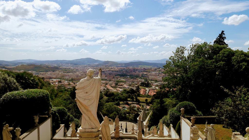 Vista desde Bom Jesus do Monte