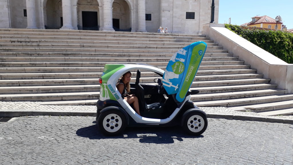 Lisboa en Renault Twizy