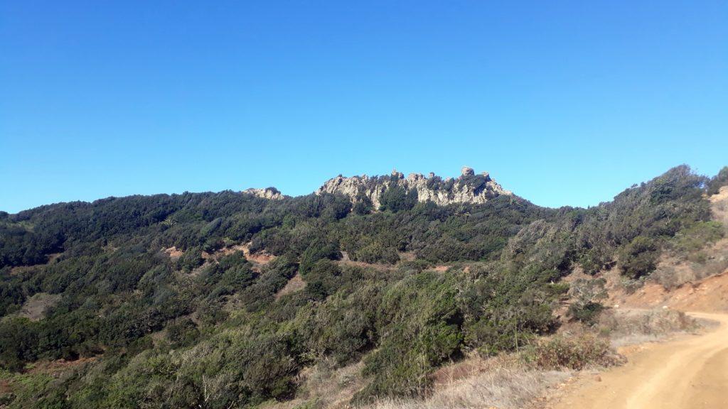 En el camino hacia el Parque Nacional de Los Órganos
