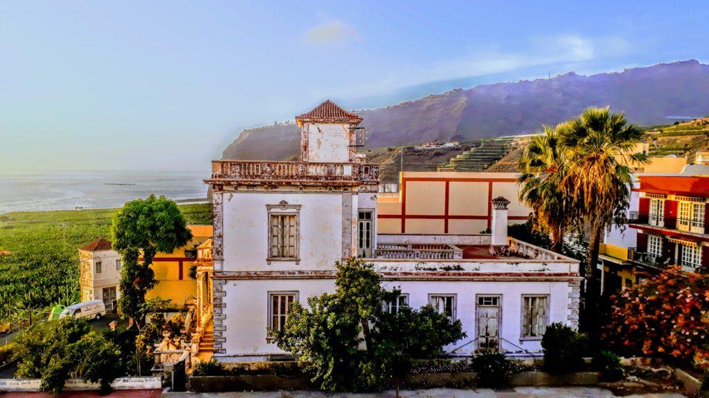 Villa vieja en Tazacorte