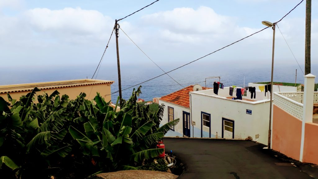 Escenario típico en La Palma