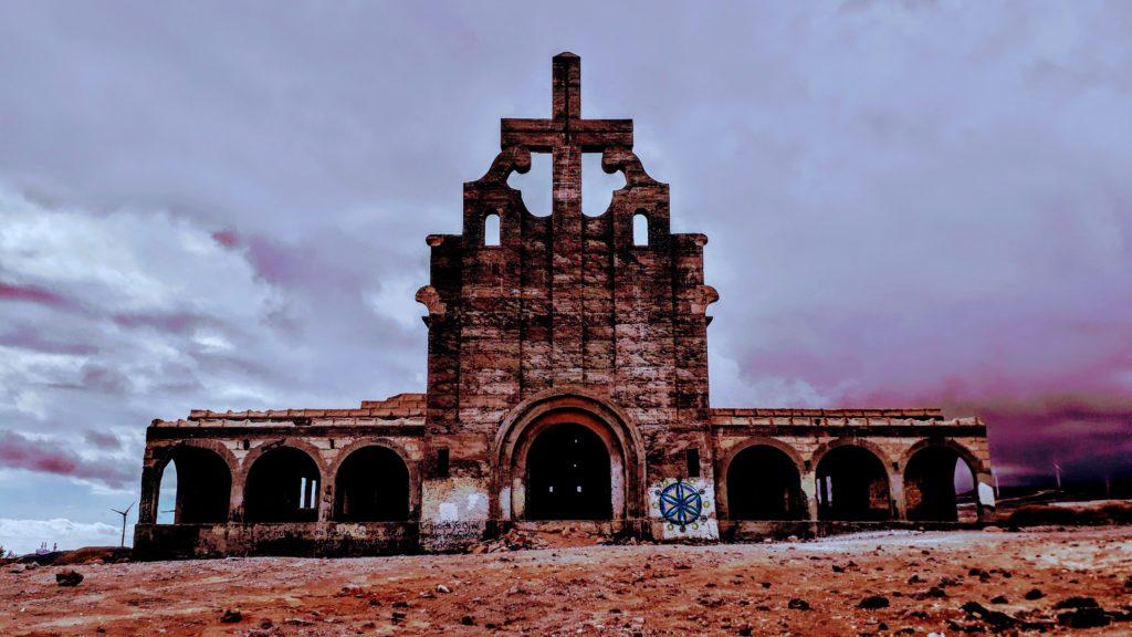 Pueblo fantasma de Abades