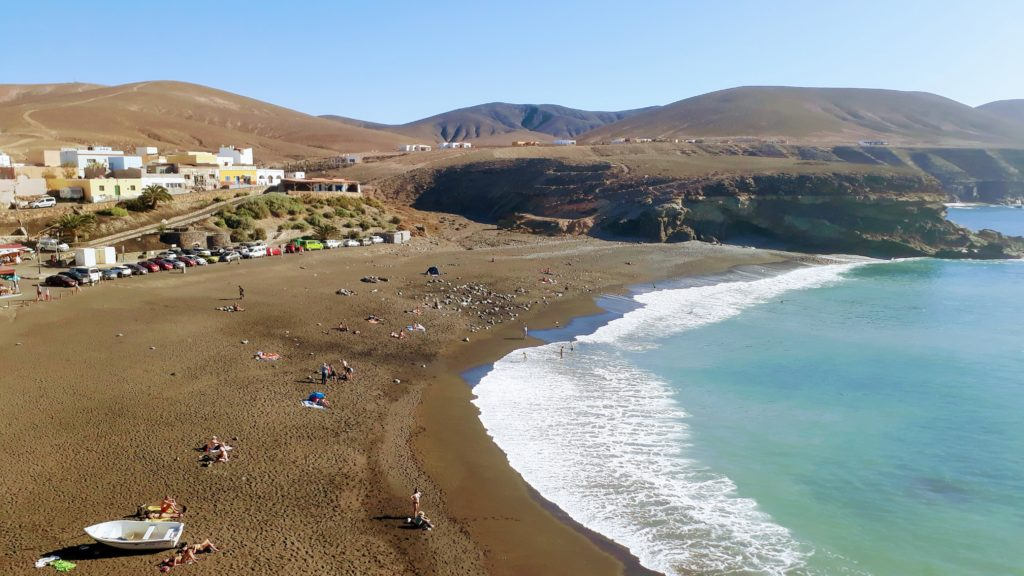Playa de los Muertos en Ajuy