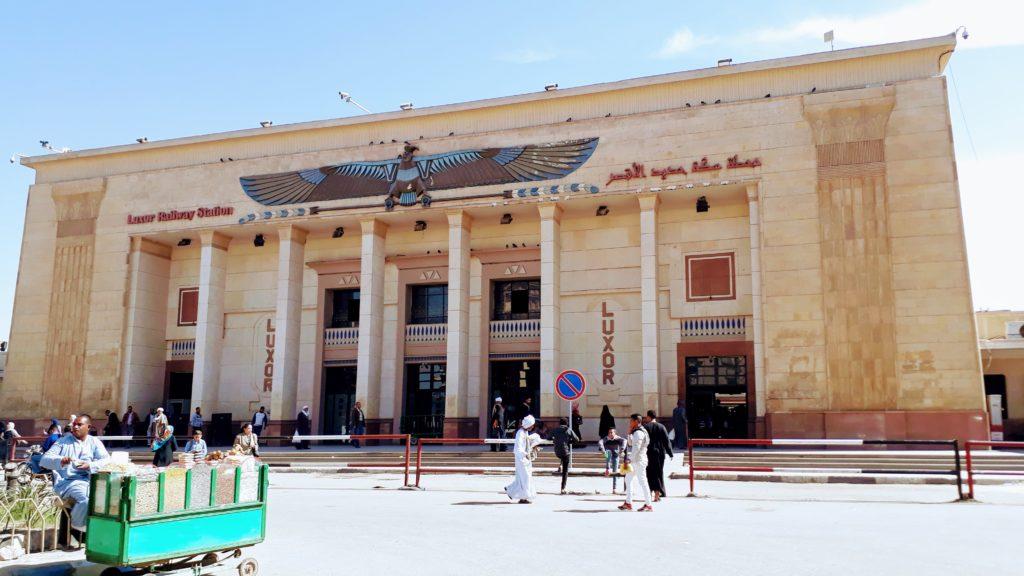 Estación de tren en Luxor