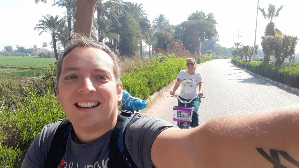 Ciclismo en Egipto