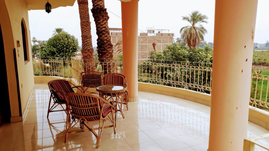 Balcón del Home Sweet Home Luxor