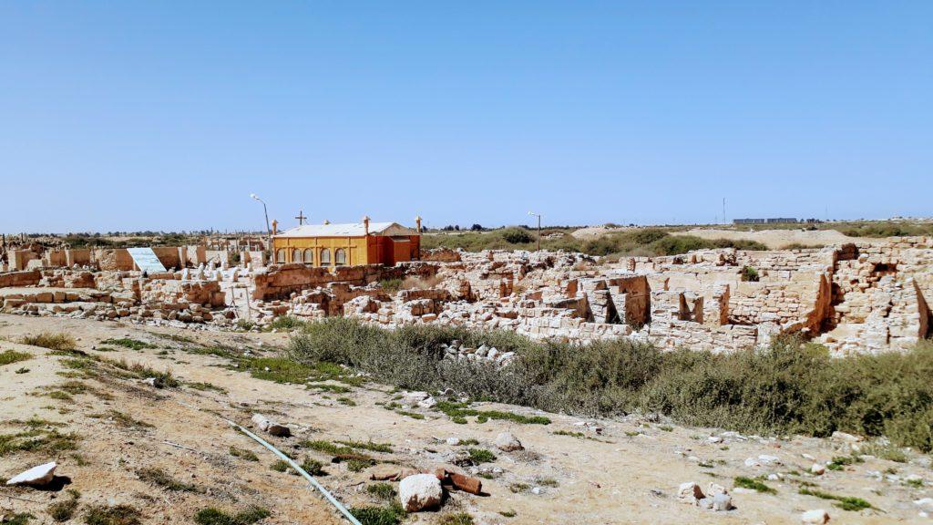 Antiguo monasterio copto de Abu Mena