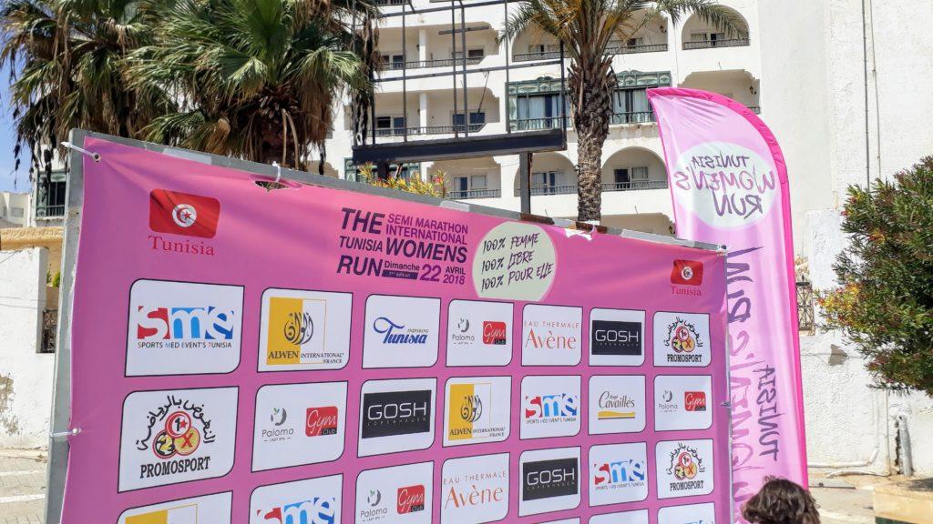 Carrera tunecina de mujeres (semi maratón)