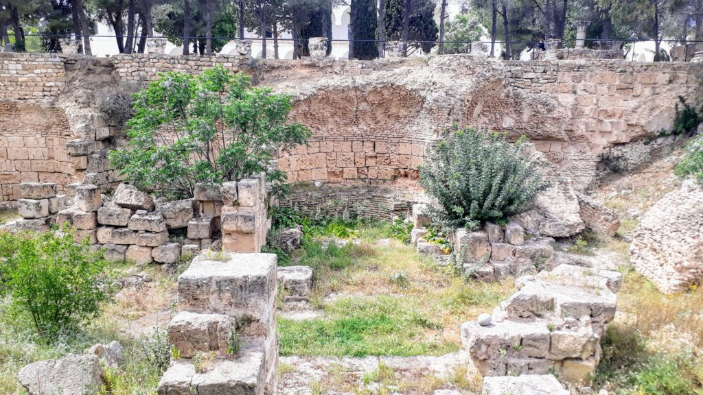 Excavaciones arqueológicas en Cartago