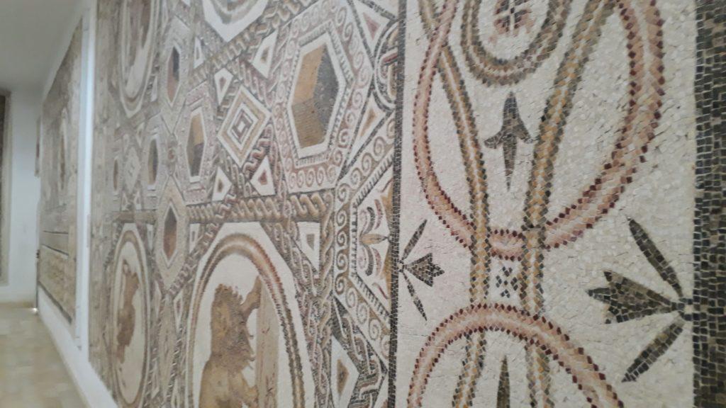 Mosaico en el Museo de El Djem