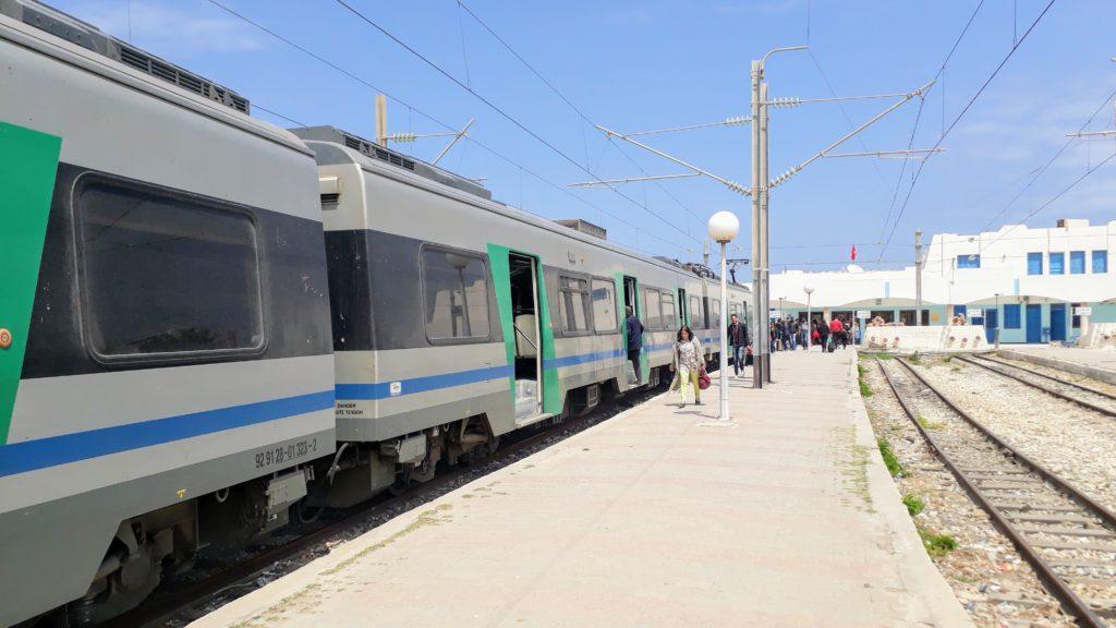 Estación de tren en Mahdía