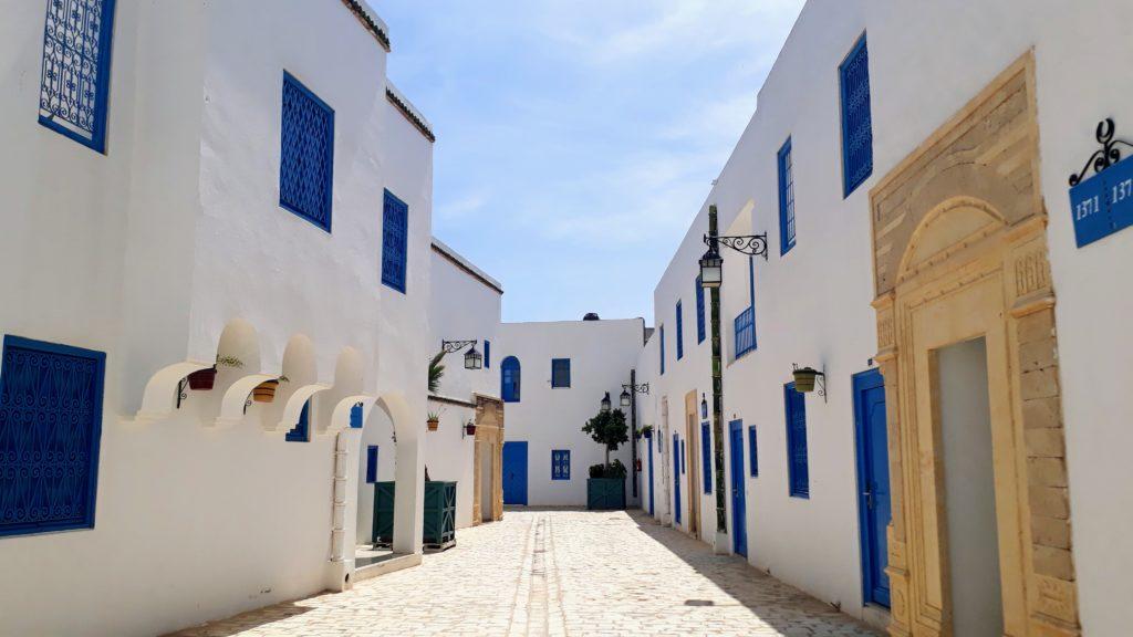 Esta parte de la Medina Mediterranea recuerda mucho a Sidi Bou Saïd