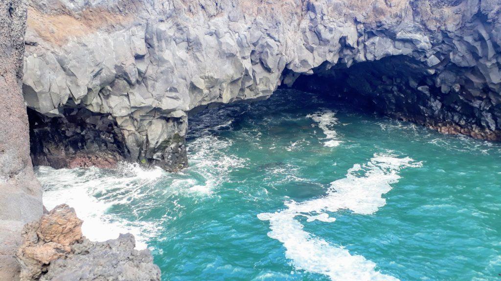 Formación de roca en Los Hervideros
