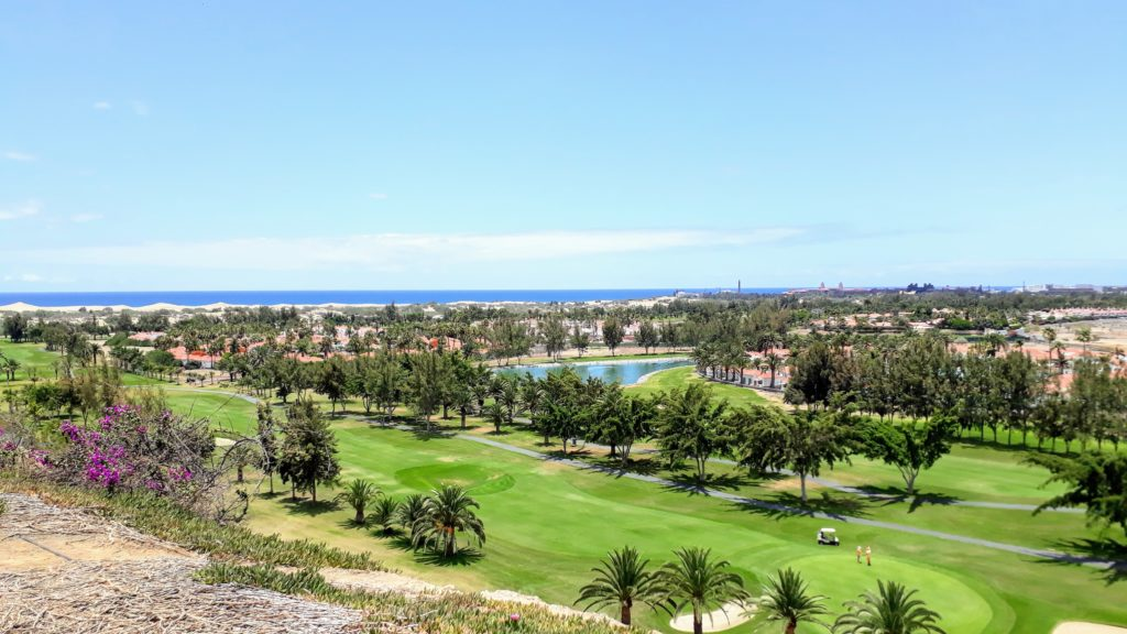 Campo de golf en Maspalomas