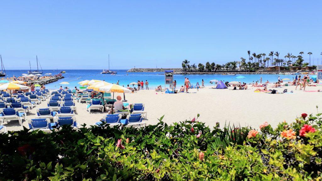 Playa de Anfi en Gran Canaria