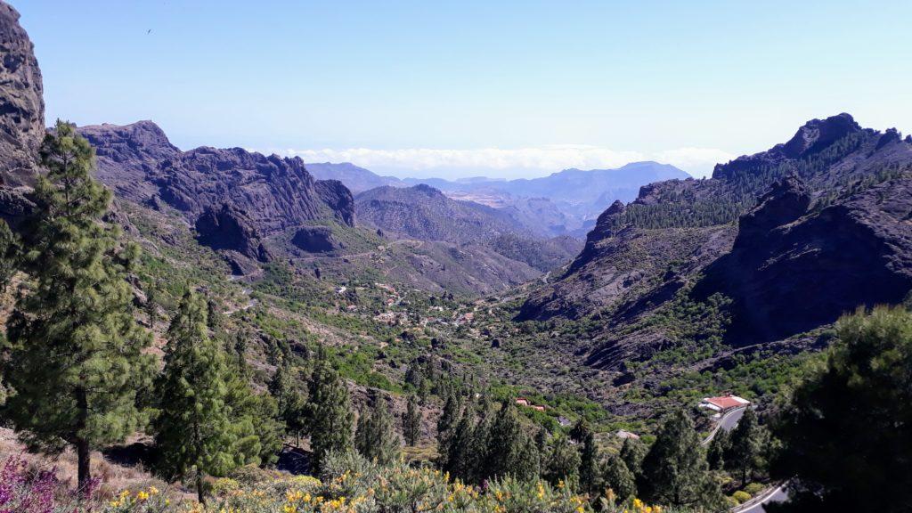 Vista desde la meseta de Roque Nublo