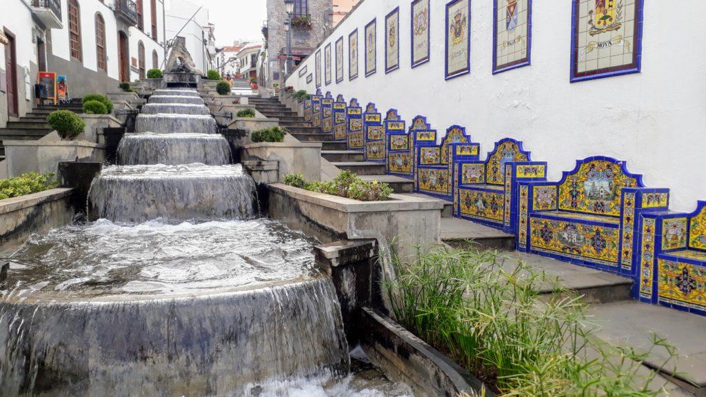Paseo de Gran Canaria en Firgas