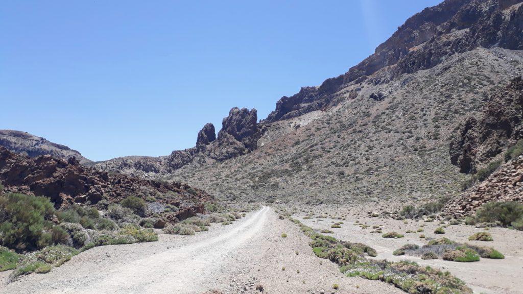 Sendero 4 (Siete Cañadas) te lleva de regreso al centro de visitantes de Cañada Blanca