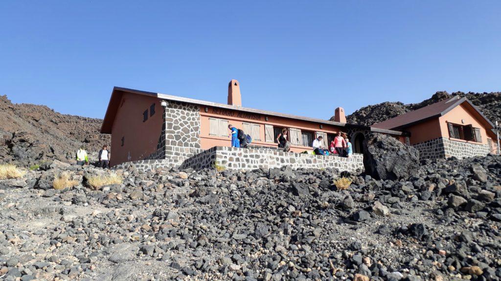El Refugio de Altavista a 3270 metros de altura