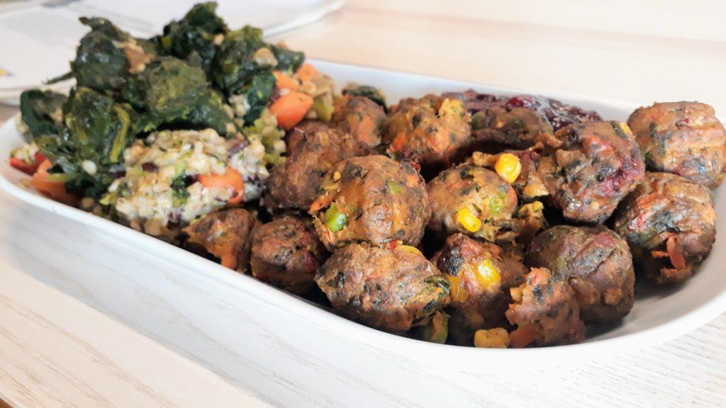Albóndigas vegetarianas 100% vegetales de IKEA