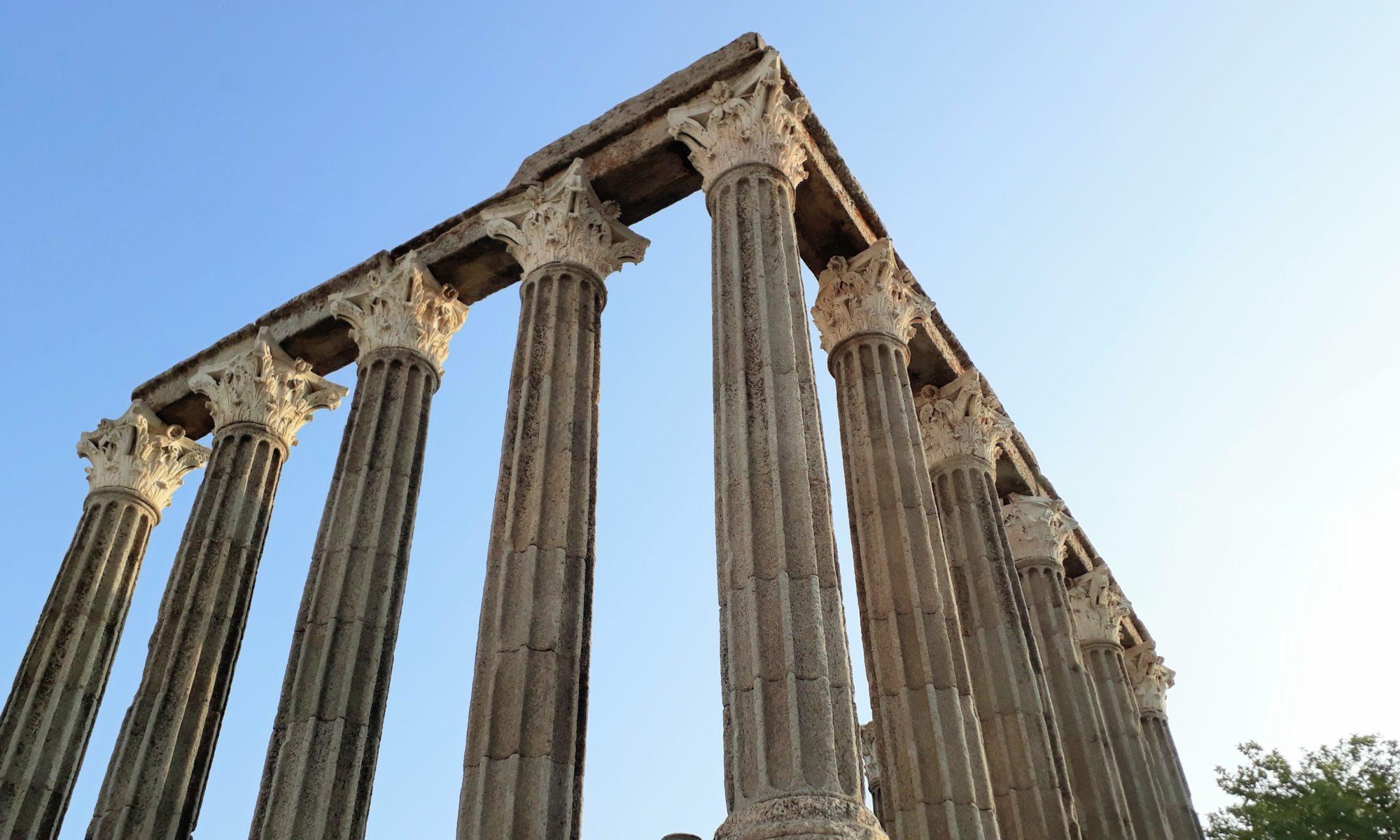 Évora: Círculos de Piedras Megalíticos y Templos Romanos