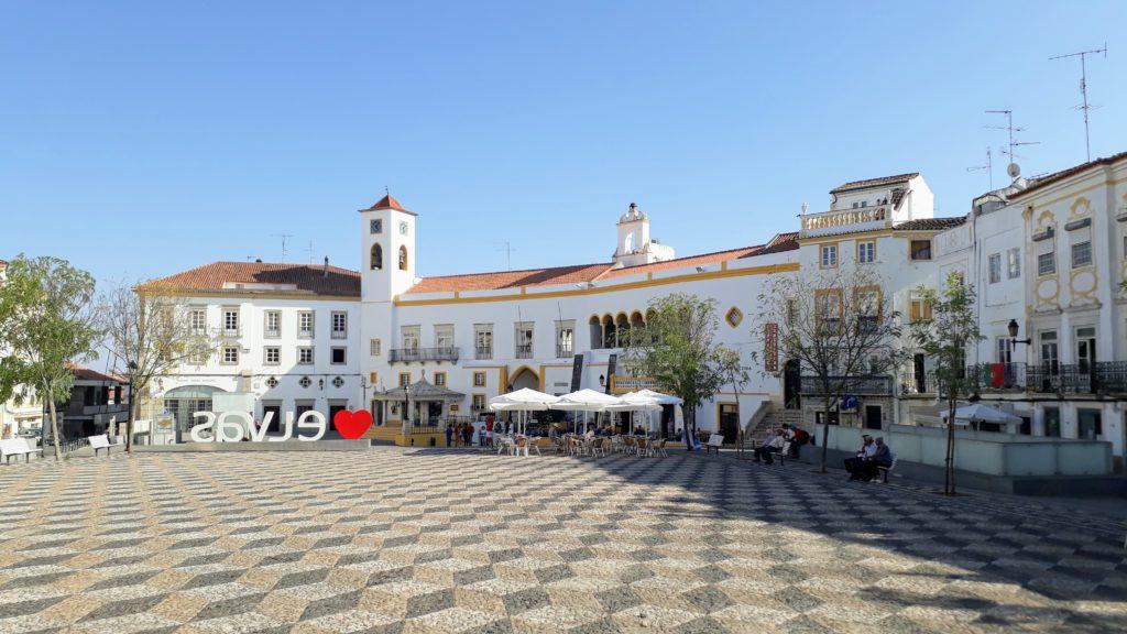 Praça da República en Elvas
