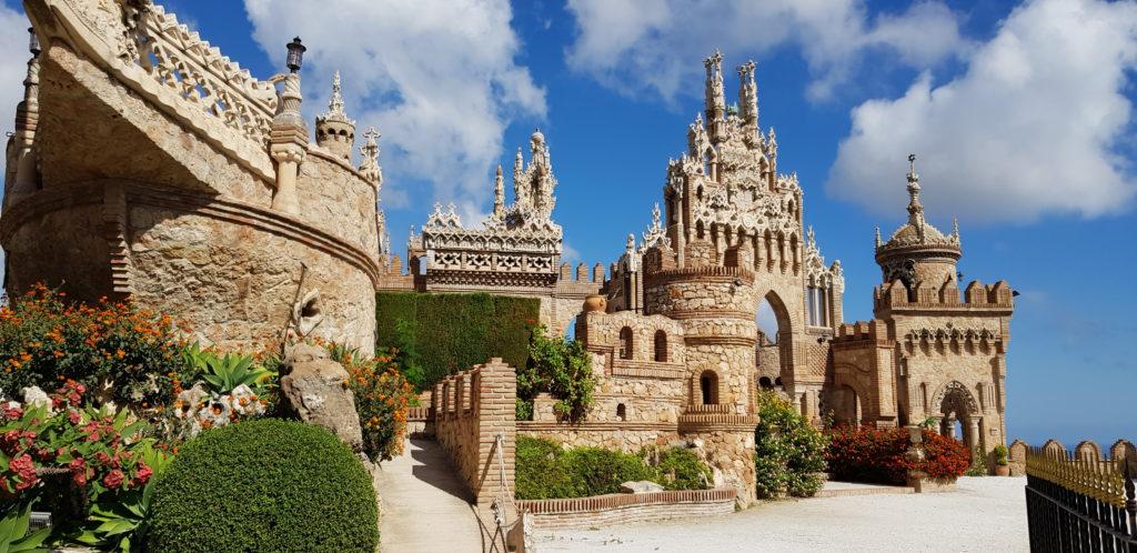 Castillo Monumento Colomares en Benalmádena