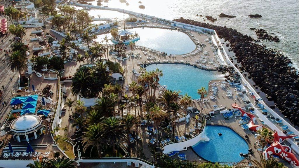 Lago Martiánez: la piscina de agua de mar más grande de Europa