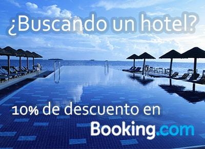 10% de descuento en Booking.com
