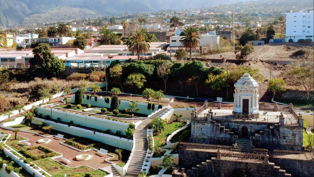 Jardines del Marquesado de la Quinta Roja o Jardines Victoria en La Orotava