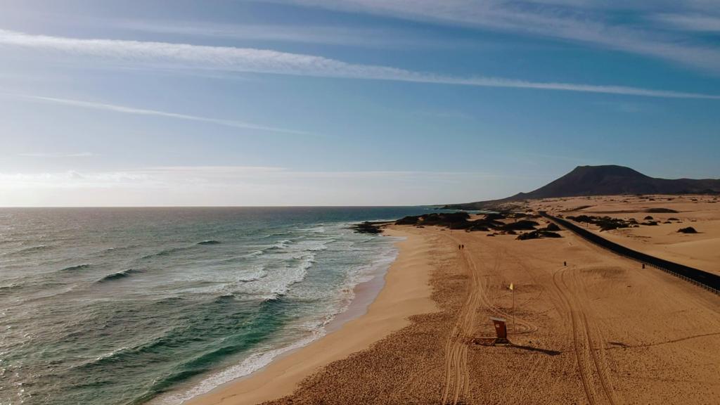 Parque de dunas Parque Natural de Corralejo